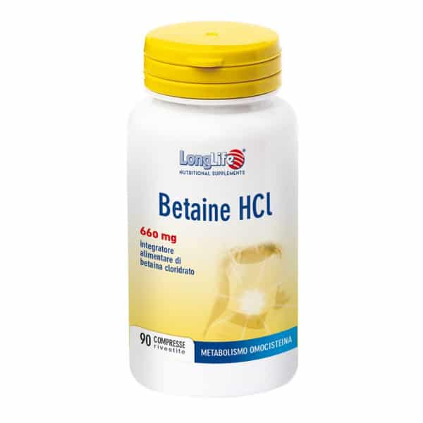 Betaine HCL 660 mg